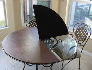 custom made round table pad - Custom Dining Room Table Pads