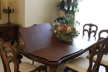keep your dining room table in excellent condition - Custom Dining Room Table Pads