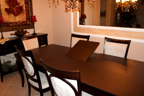 purchase a custom table pad - Custom Dining Room Table Pads