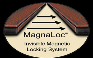 Know more about our magnetic lock for table pads